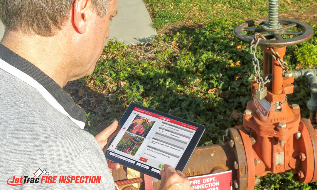 Fire Inspection Technician - Tablet In Field