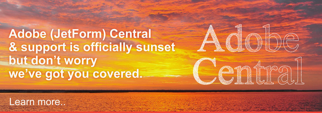 Adobe Central Sunset Web Banner